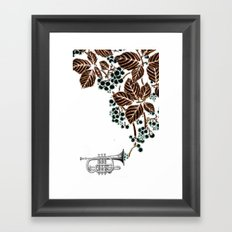 cornet. #2 Framed Art Print