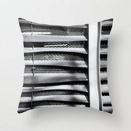 Angle of Venting I Throw Pillow