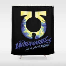 Ultramarines Shower Curtain