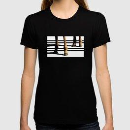 Giraffe Hooves & Stripes T-shirt