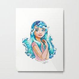 Sea Maiden Metal Print