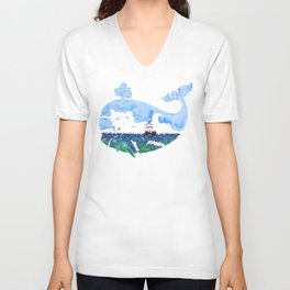 Marine adventure Unisex V-Neck