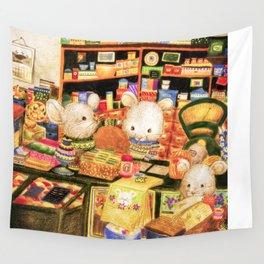 Taiwan Komori Mice Wall Tapestry