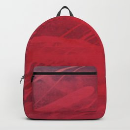2x red spot Abstract ( Limited 01 / 50#) Backpack