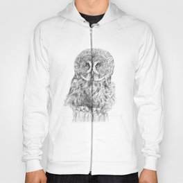 The Great Grey Owl Hoody