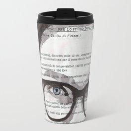 Honey - Portrait ink drawing Travel Mug
