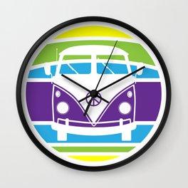 Humboldt Bus - Retro Wall Clock