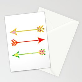 Arrow minded Stationery Cards