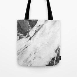 Titan River Black Tote Bag
