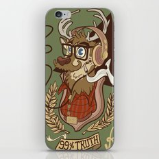 Oh my Deer (be unique and forever young like a 1960 radio) iPhone & iPod Skin