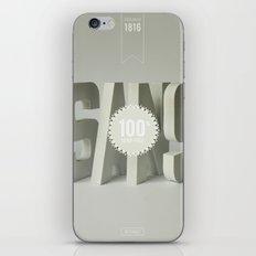 Sans Serif iPhone & iPod Skin
