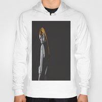 lonely Hoodies featuring Lonely by dunstanvassar