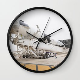 1763. SpaceX Demo-1 Rollout (NHQ201902280003) Wall Clock