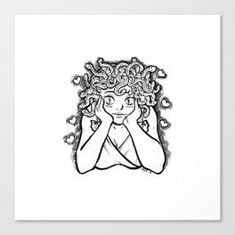 Medusa's Gaze Canvas Print