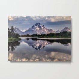 Mt. Moran and the Snake River Metal Print
