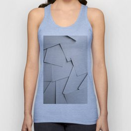 Sheets of Paper Unisex Tank Top