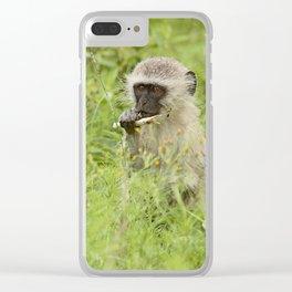 southafrica ... my tasty sugar cane! Clear iPhone Case