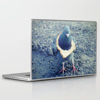hiphop Laptop & iPad Skins featuring HipHop Dove Walk by Sigurdfisk