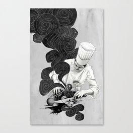 Galactic Chef Canvas Print