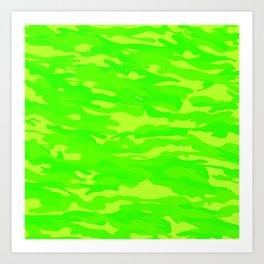 camuflaje 6 Art Print