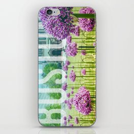 Boston Cityscape - Copley Square iPhone Skin