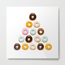 Happy Donuts Metal Print