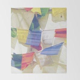 Prayer Flags Throw Blanket