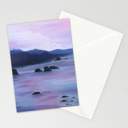 Sunset at Cannon Beach Stationery Cards