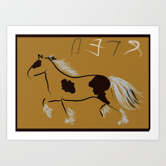 The Essential Horse Art Print