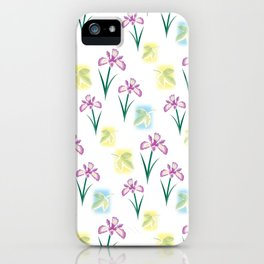 Scent of Irises iPhone Case