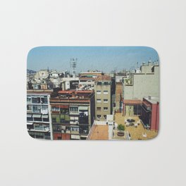 Roofs of Barcelona Bath Mat