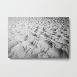 Dubai Sands Metal Print