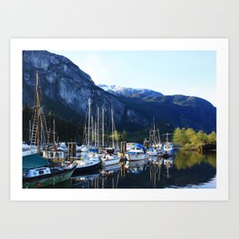 The Marina Art Print