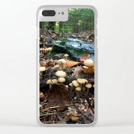Mushroom floor Clear iPhone Case