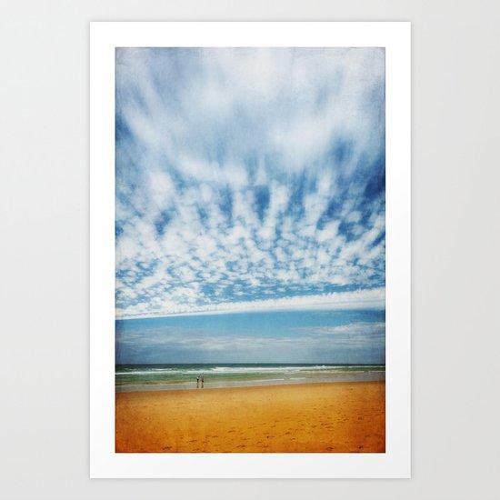 days of summer Art Print