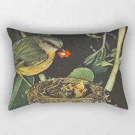 Birdie likes Rectangular Pillow