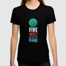 Five Minutes More Gamers Videogames Computer Controller Joysticks Xbox Gift T-shirt