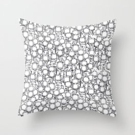 Astronauts (bunches!) Throw Pillow