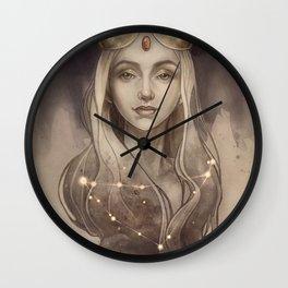 Zodiac Capricorn Wall Clock