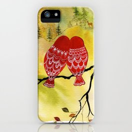 Look! Deer! iPhone Case
