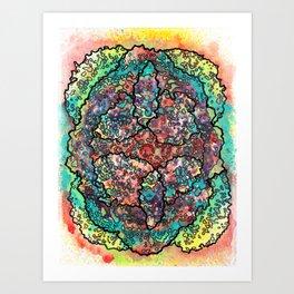Stain 31 Art Print