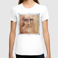 da vinci T-shirts featuring Leonardo Da Vinci by Michael Cu Fua