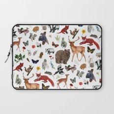 Wild Woodland Animals Laptop Sleeve