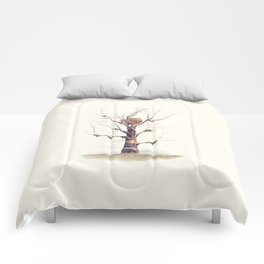 The Swamp Witch's Treehouse Comforters