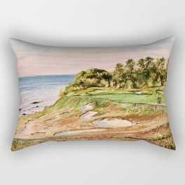 Whistling Straits Golf Course 17th hole Rectangular Pillow