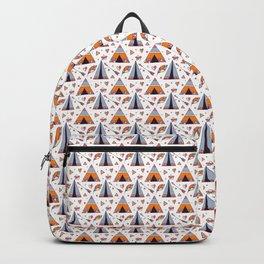 Tribal Tee Pee And Arrow Boho Design Backpack