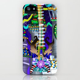 Fusion Keyblade Guitar #142 - Decisive Pumpkin & Stroke At Midnight iPhone Case
