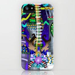 Fusion Keyblade Guitar #142 - Decisive Pumpkin & Stroke At Midnight iPhone Case