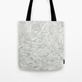 Grey marble surface pattern Tote Bag