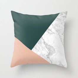 Stylish Marble Throw Pillow